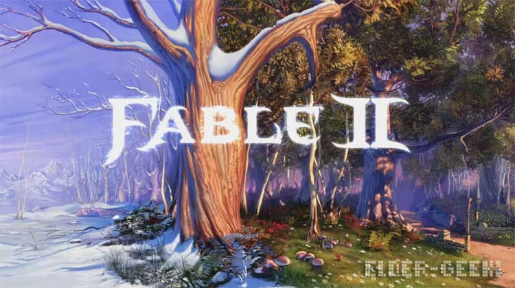 fable 2 title screen
