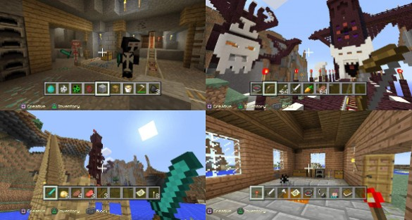 'Minecraft' Adds PS3 To PS4 World Transfers