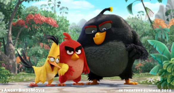 Voice Cast Confirmed For 'Angry Birds' Film