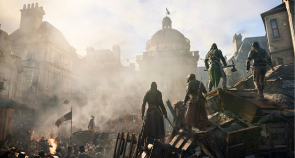 Ubisoft Giving Free DLC For Troubled 'AC Unity' Launch