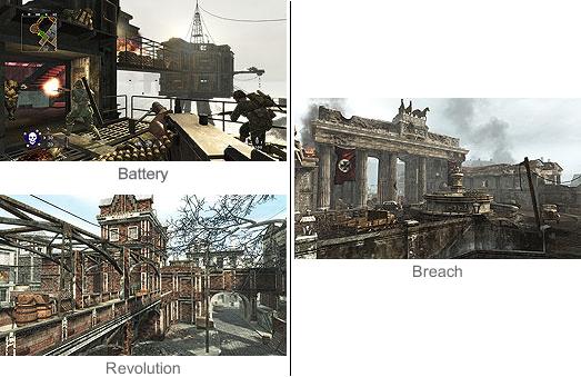 CallOfDuty WaW MapPack3 Maps