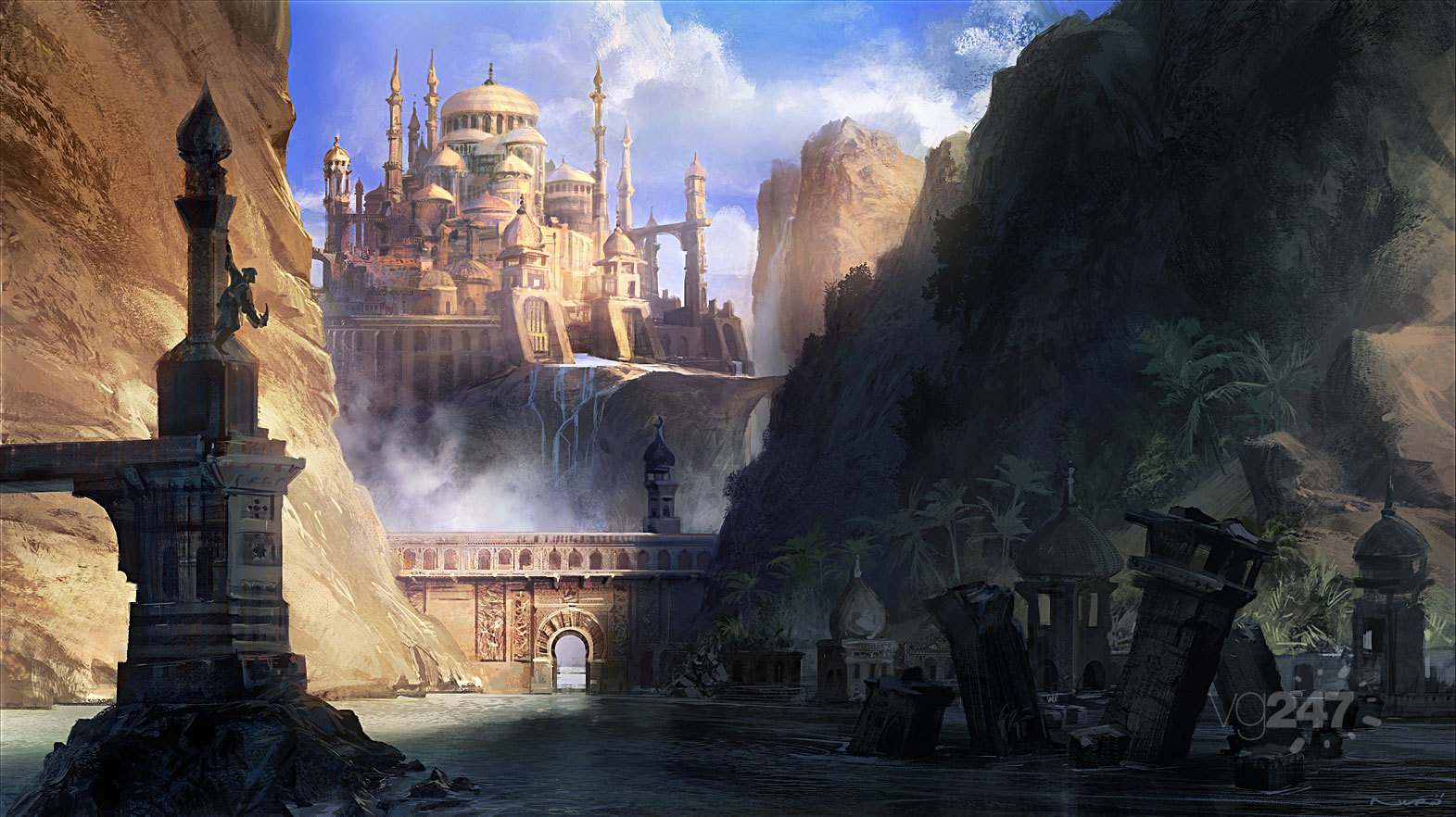 Prince Of Persia: The Forgotten Sands Details And Images