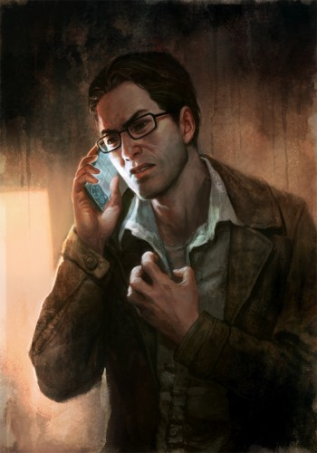 Shattered Memories' Version of Protagonist, Harry Mason