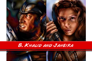 meet with khalid and jaheira