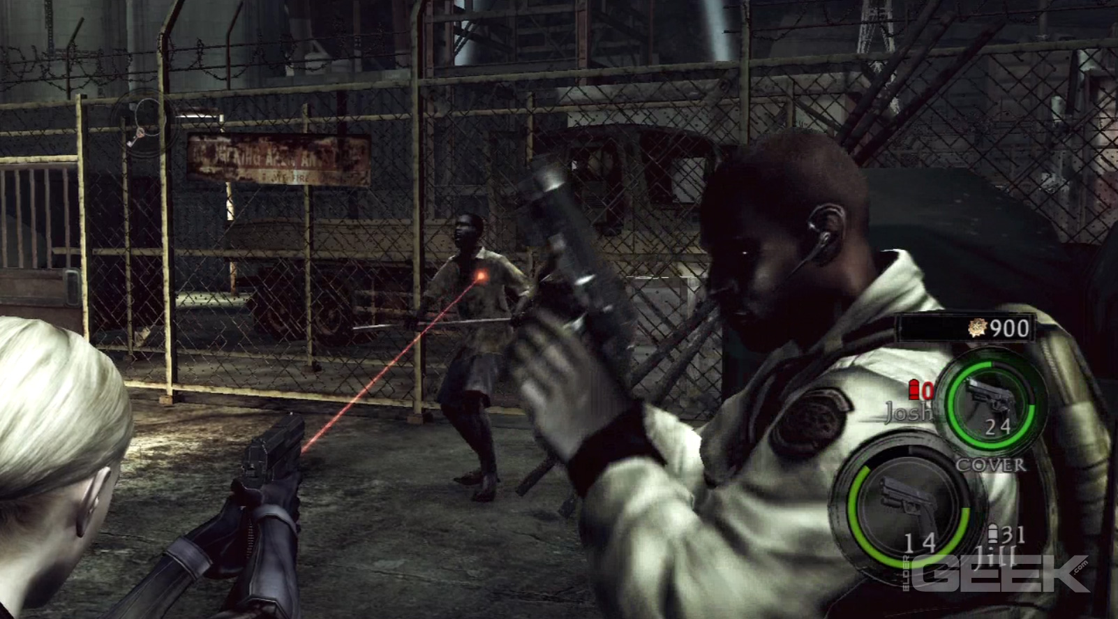 Resident Evil 5 Desperate Escape Review Elder Geek Com