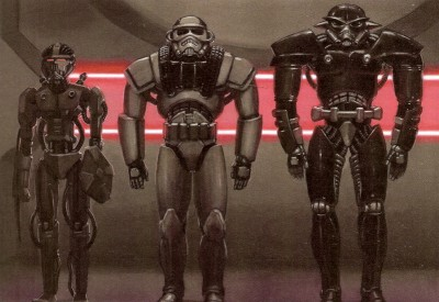 These are dark troopers. Cool, right?