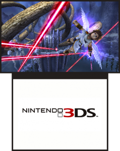 A screenshot of Kid Icarus: Uprising.