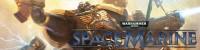 Warhammer 40k SpaceMarine Banner