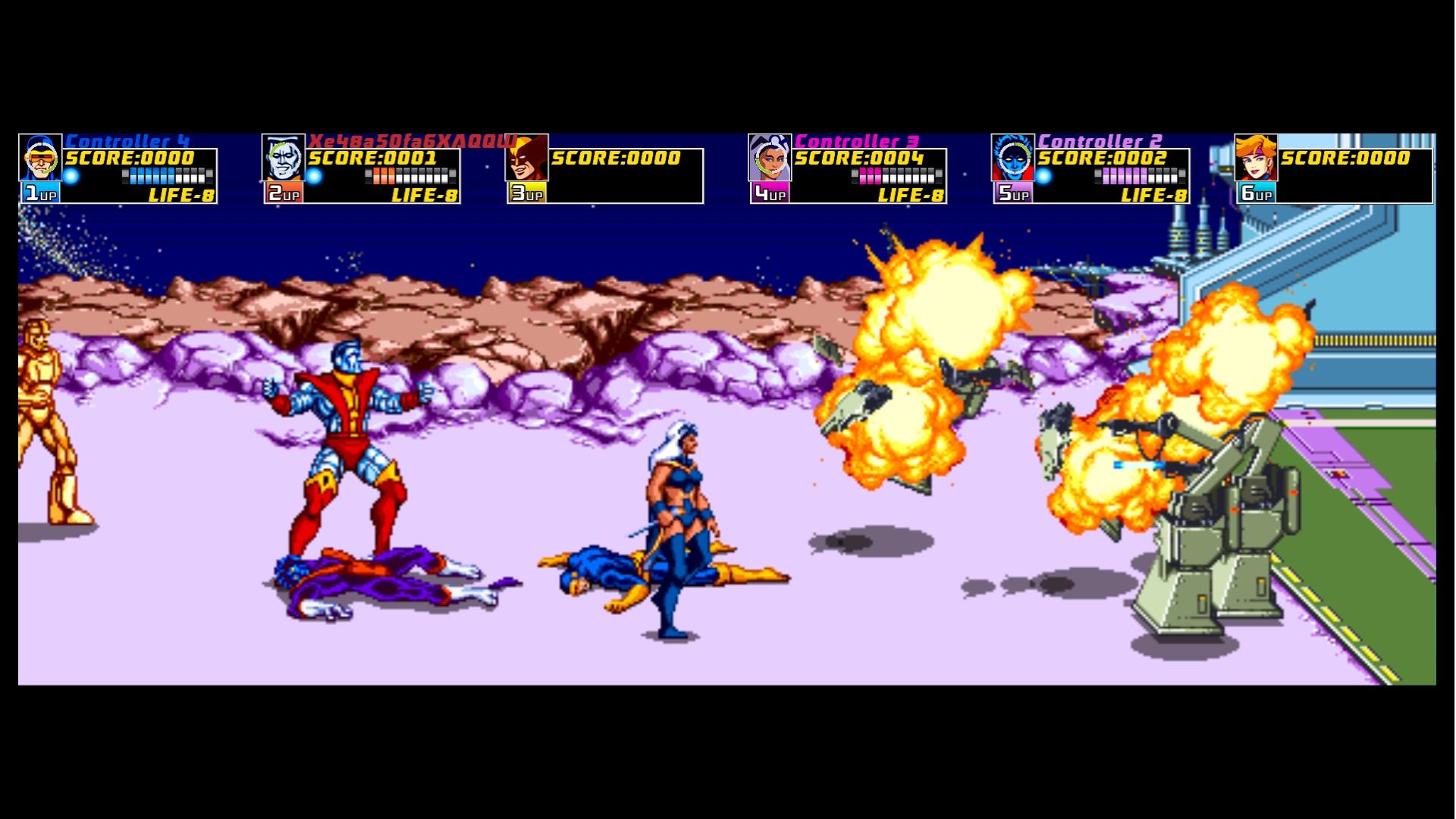 x men arcade review