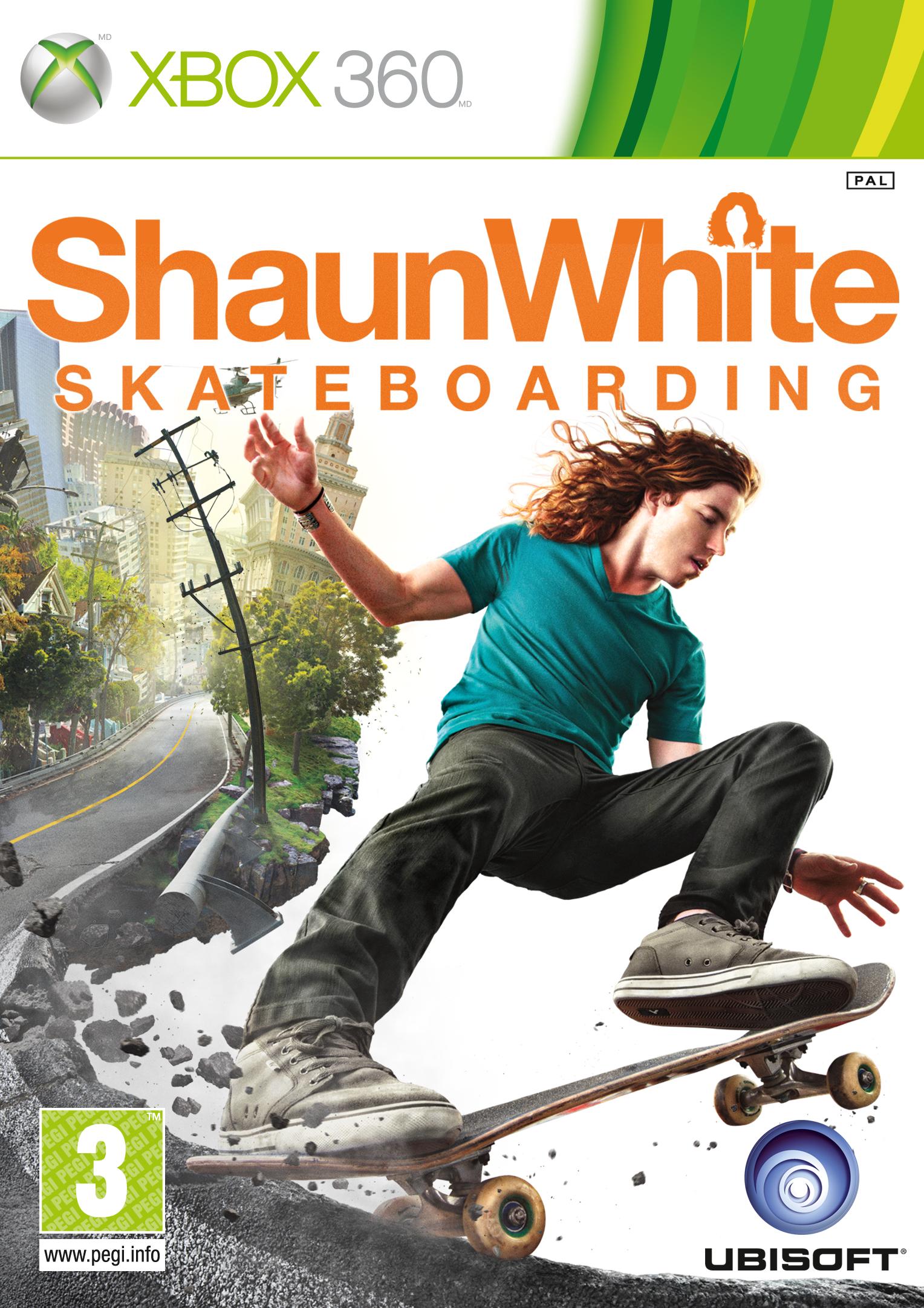 Shaun White Skateboarding REGION FREE.