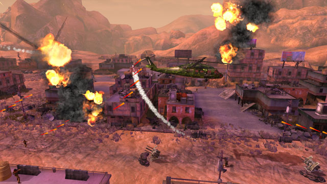 Choplifter Gameplay