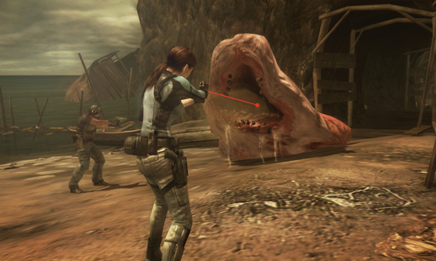 Resident Evil Revelations Screen 1