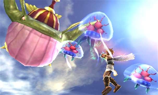Kid Icarus Uprising Metroids