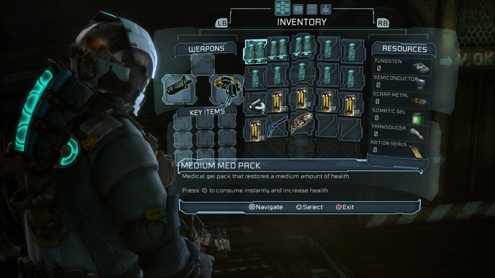 dead space 3 hud Review: Dead Space 3 (PC)