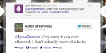AaronGreenbergTweet