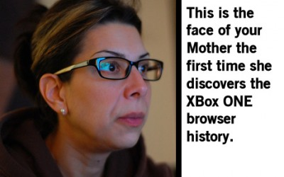 Mom finds browser history, is not pleased.