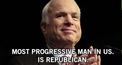John McCain loves the future.