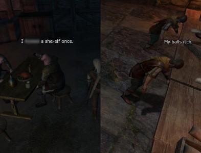 A couple pieces of hard hitting dialogue.