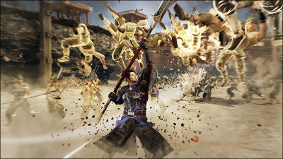 Yu Jin in action.