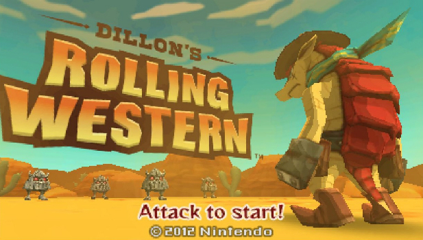 Dillon's Rolling Western Title Screen